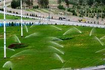 آبیاری ۶۰ درصد از فضای سبز منطقه یک با آب خام