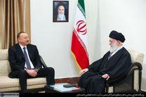 دیدار رئیس جمهوری آذربایجان با رهبر انقلاب