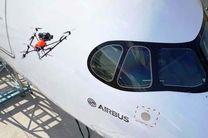 کنترل کیفیت هواپیما با پهپاد امکان دارد