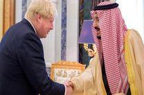 مکالمه تلفنی پادشاه عربستان و نخست وزیر انگلیس