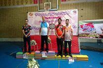 قهرمانی ورزشکار گیلانی در رقابتهای دارت کشور