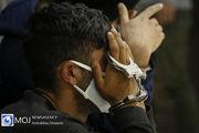 دستگیری خرده فروش موادمخدر در محله نازی آباد