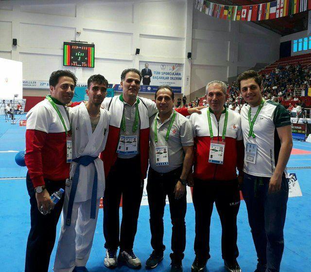 کسب اولین مدال طلا توسط کاراتهکا ناشنوا