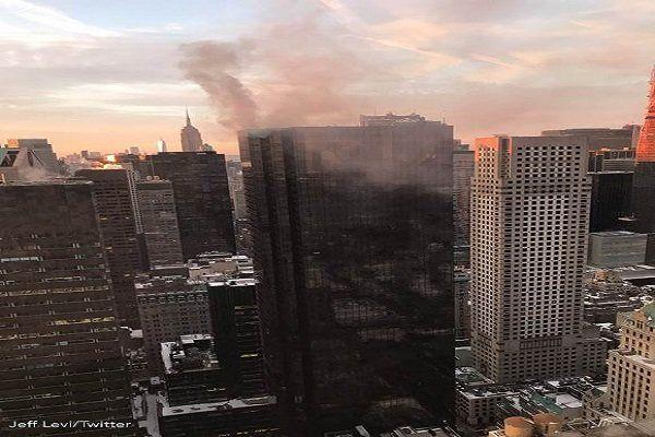 آتش سوزی در برج ترامپ یک کشته بر جای گذاشت