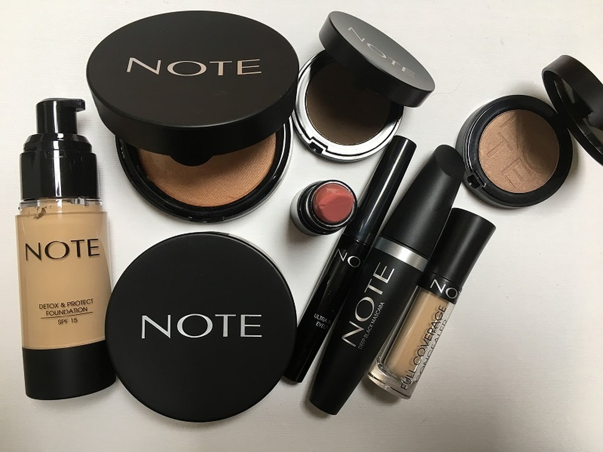 مهمترین محصولات آرایشی نوت