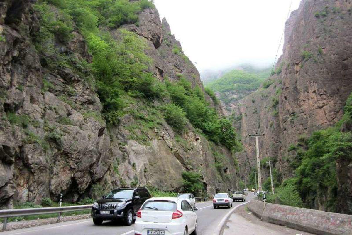 جاده چالوس و آزادراه تهران _شمال تا ساعت ۱۷ مسدود می شود