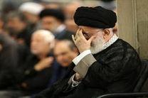 برگزاری مراسم سوگواری شهادت مظلومانه امام علی(ع) در حضور رهبر معظم انقلاب
