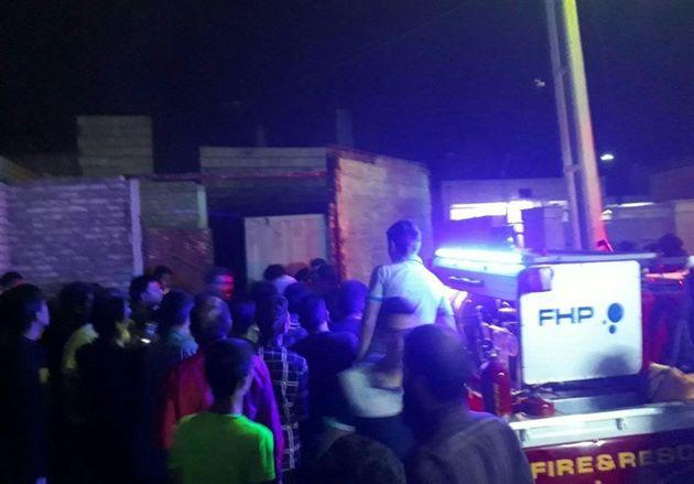 13 مجروح بر اثر انفجار ترقه در خیابان زینبیه اصفهان