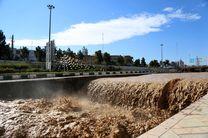 انسداد ۴ محور مواصلاتی به علت سیلاب و آبگرفتگی