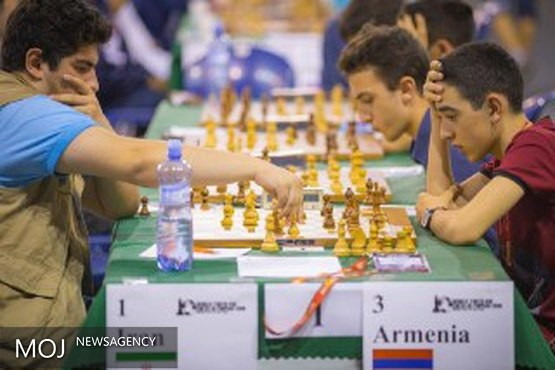 پیروزی شطرنج بازان ایرانی مقابل ارمنستان / تیم ملی همچنان در صدر جدول قرار دارد