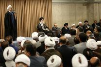 مقام معظم رهبری میزبان ضیافت افطار مسوولان نظام