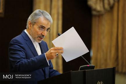 محمد باقر نوبخت سخنگوی دولت