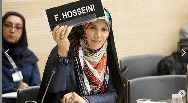 ماجراهای سیده فاطمه حسینی تمامی ندارد/ از تکذیب سفره انقلاب تا تکذیب ویلای لواسان