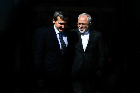ظریف با همتای ترکمنستانی خود دیدار کرد