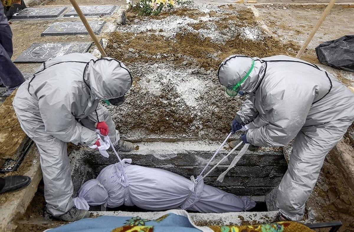 دفن اموات کرونایی در داخل شهر ممنوع است
