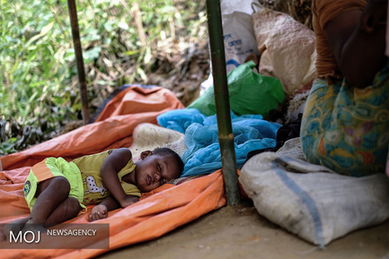وضعیت اسفبار کودکان روهینگیایی در بنگلادش