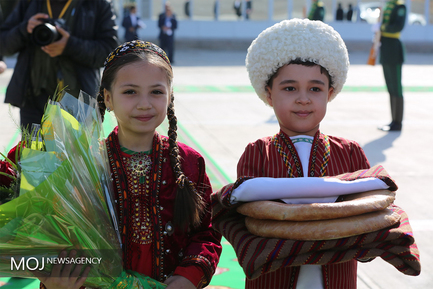 روز دوم سفر رییس جمهوری به ترکمنستان