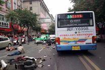 حمله مرگبار یک خودرو به عابران پیاده در چین