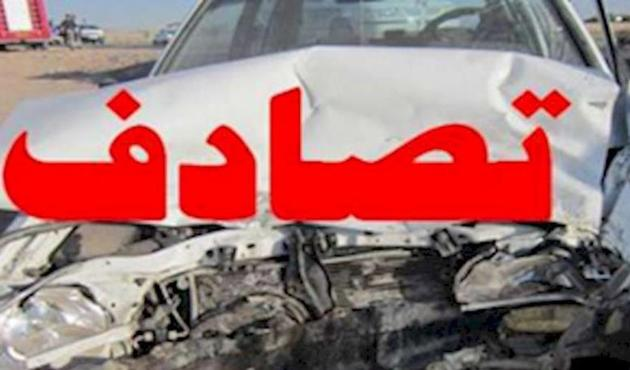 یک کشته و 5 مصدوم بر اثر واژگونی پژو پارس در محور اردستان - بادرود
