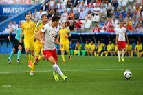 لهستان ۱ - ۰ اوکراین؛ ۷ امتیاز برای صعود