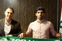 تمدید قرارداد حمید بوحمدان با باشگاه ذوب آهن
