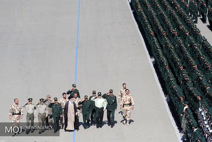 مراسم دانشآموختگی دانشجویان دانشگاه افسری امام حسین (ع)