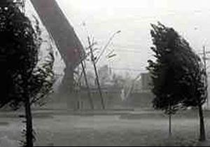 وزش باد در مشگینشهر به 105 کیلومتر بر ساعت رسید