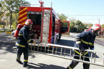 انجام بیش از یک هزار و 200 عملیات نجات توسط آتش نشانان سنندجی