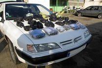 کشف 300 کیلو تریاک از یک دستگاه سواری سمند در نائین