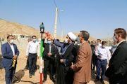 مشعل گاز در روستای چم شیر سیروان بمناسبت هفته دولت روشن شد