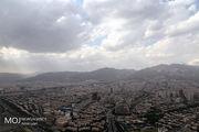 کیفیت هوای تهران ۲۲ اردیبهشت ۱۴۰۰/شاخص کیفیت هوا به ۷۵ رسید