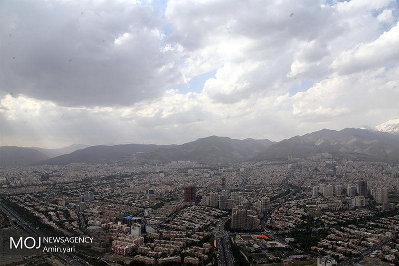 کیفیت هوای تهران در ۱۳ آذر ۹۸ سالم است/ شاخص کیفیت هوا به ۷۸ رسید