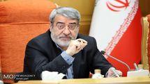 ستاد مدیریت بحران در سطح ملی به ریاست وزیر کشور است