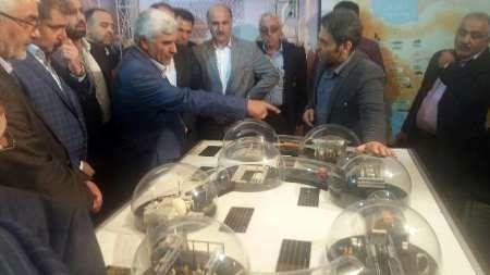 نمایشگاه دستاوردهای هسته ای ایران در بابلسر گشایش یافت