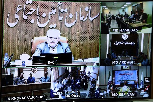 صدور نسخه الکترونیک در مراکز درمانی طرف قرارداد تأمین اجتماعی در ٥ استان دیگر آغاز شد