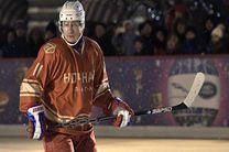 بازی پوتین در لیگ برتر هاکی روی یخ