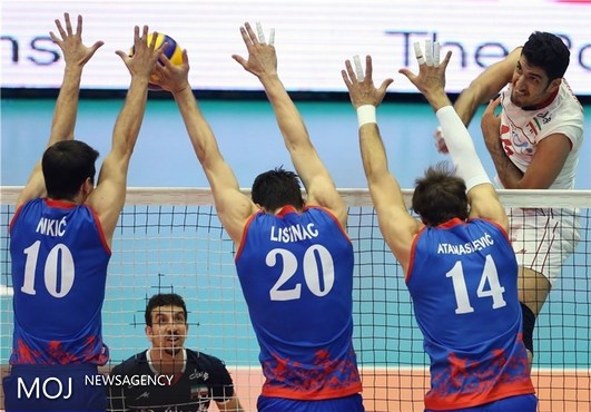 طوفان والیبالیست های ایران در جهنم آزادی / وزیر خوشقدم چشم صربها را درآورد!