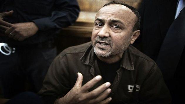 دفاع مروان برغوثی از اعتصاب غذای اسیران فلسطینی