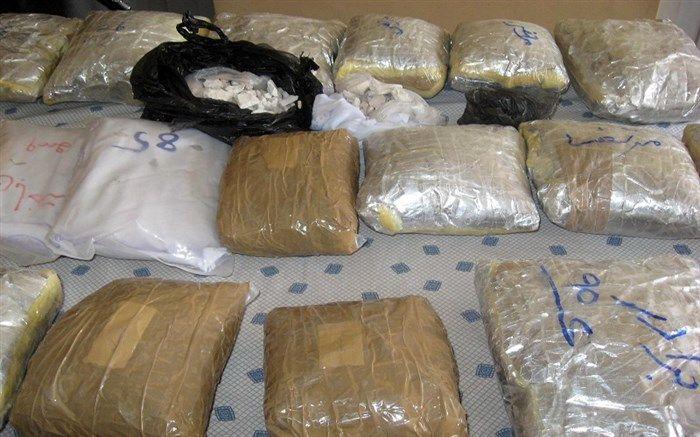 کشف ۶۲۴ کیلو و ۸۳۷ گرم انواع مواد مخدر در هرمزگان/دستگیری ۳۳ قاچاقچی