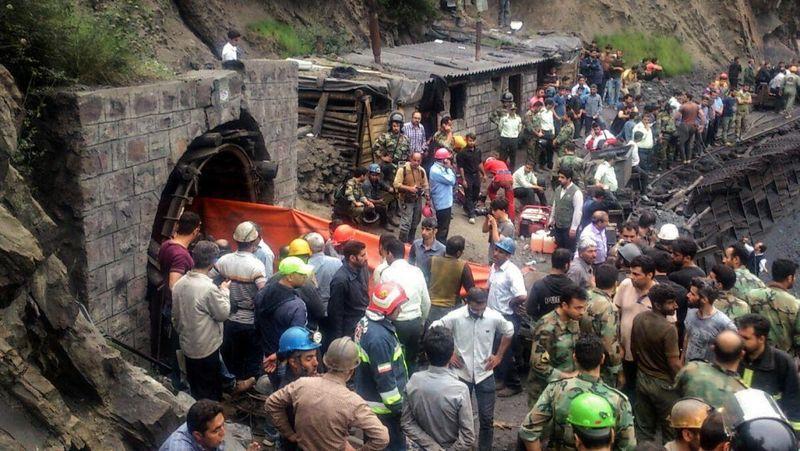 دل هموطنان از حادثه معدن آزادشهر به درد آمد