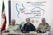 روسیه مدال طب نظامی را به ایران داد