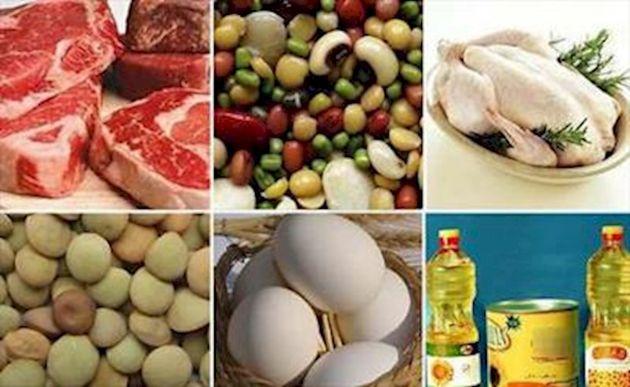 گزارش بانک مرکزی از نرخ اقلام مواد خوراکی