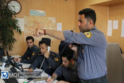 نشست خبری مدیر عامل سازمان آتش نشانی اصفهان