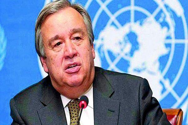 دبیرکل سازمان ملل به ایران تسلیت گفت