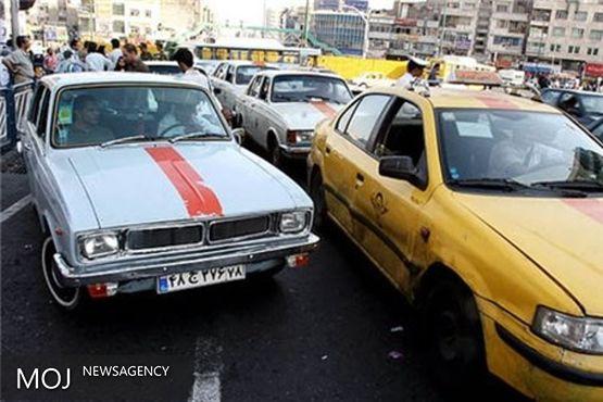 تاکسی های فرسوده در کرمانشاه اجازه تردد ندارند