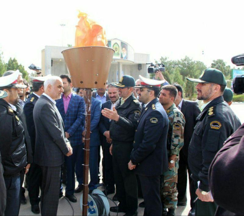 اجرای طرح ابتکاری آتش سرد توسط پلیس راه استان اصفهان