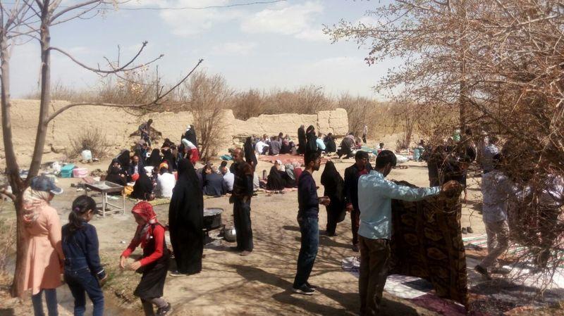 برگزاری سه قرن آیین سنتی در روستای ترکان