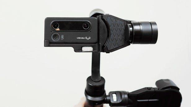 فیلمبرداری 3 بعدی زنده با دوربین دو لنزه