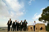 بازدید استاندار لرستان از قلعه تاریخی فلکالافلاک