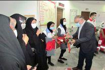 طرح قرار مهربانی و حمایت ماندگار توسط جوانان و داوطلبان هلال احمر شهرستان یزد
